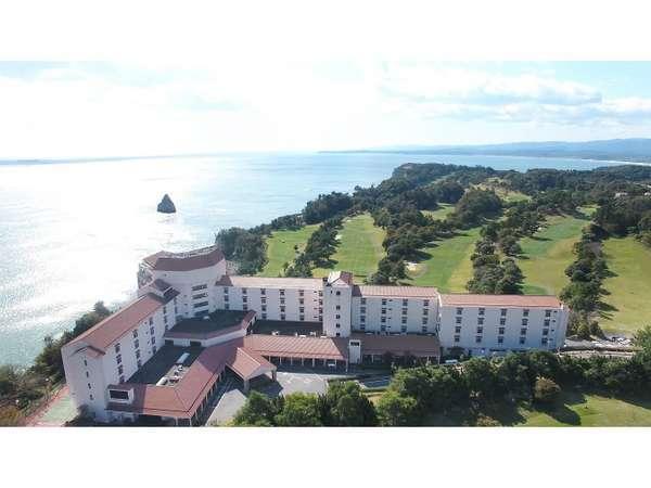 小名浜オーシャンホテル&ゴルフクラブの外観