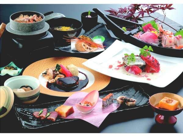 和食と洋食の料理長がコラボレーション!オーシャンで史上!最も贅沢なお料理を。1泊2食付プラン