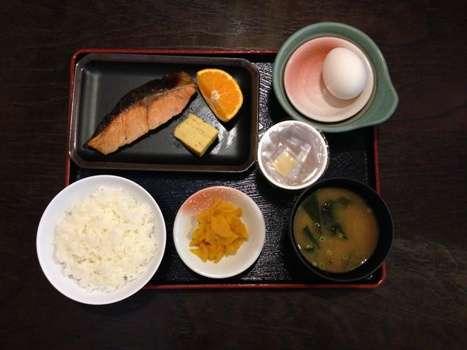 朝は和食派!!朝食付きプラン!