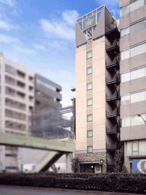 R&Bホテル東日本橋の外観