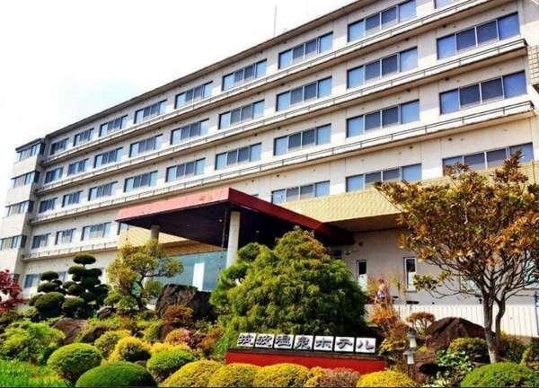 筑波温泉ホテルの外観