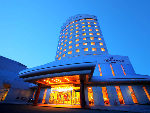 ANAクラウンプラザホテル稚内(2019年1月1日より:サフィールホテル稚内)の外観