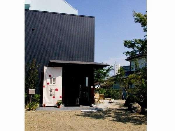 仙台 ゲストハウス梅鉢の外観