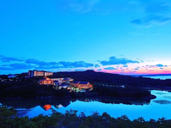 伊勢志摩国立公園の中に佇むアクアヴィラ伊勢志摩 日常から離れゆったりと時間が流れる