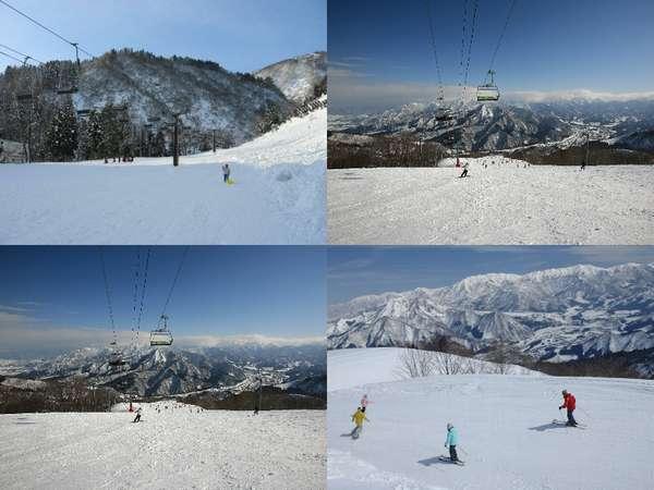 近隣人気スキー場(NASPA、GALA、湯沢高原、湯沢高原布場・布場ファミリー) 写真提供:じゃらんnet