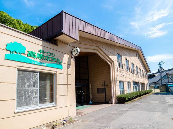 キトウシ高原ホテルの外観