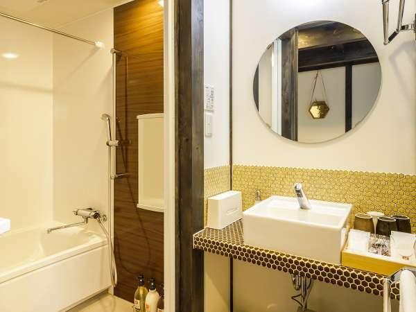 【全客室】独立バス・トイレ・洗面付き