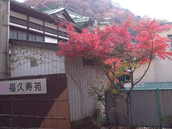 ペットと楽しむ温泉旅館 福久寿苑の外観