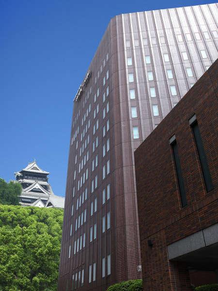 熊本ホテルキャッスルの外観