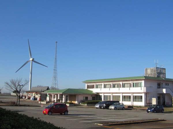 内灘町サイクリングターミナルの外観