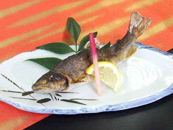 岩魚や鮎、ニジマスなど季節の川魚をお楽しみください。