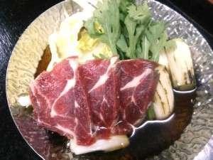 【熊鍋】 コク、甘み共に一度食べると忘れられない絶品です。