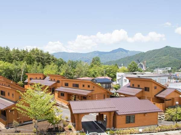富士山リゾートログハウスふようの宿全景