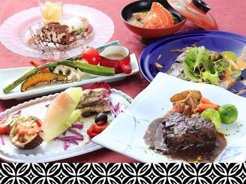 【美味少量の洋懐石風料理】シェフお任せ!こだわりのお肉料理orお魚料理!選べるメインコース <A>