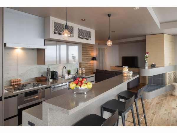 お部屋例:機能的なキッチン