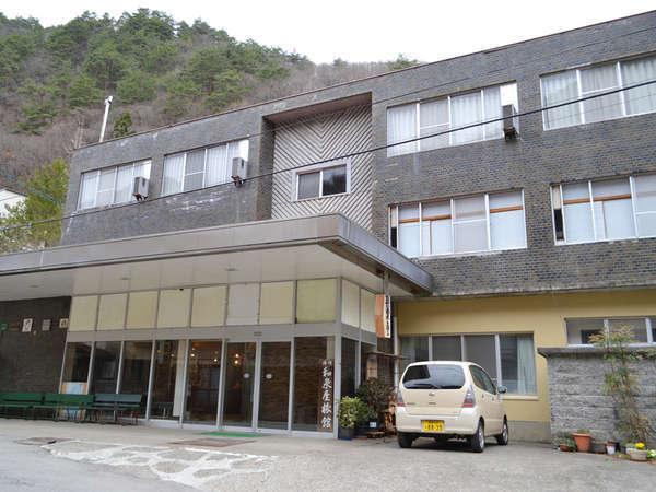 霊泉寺温泉 和泉屋旅館の外観