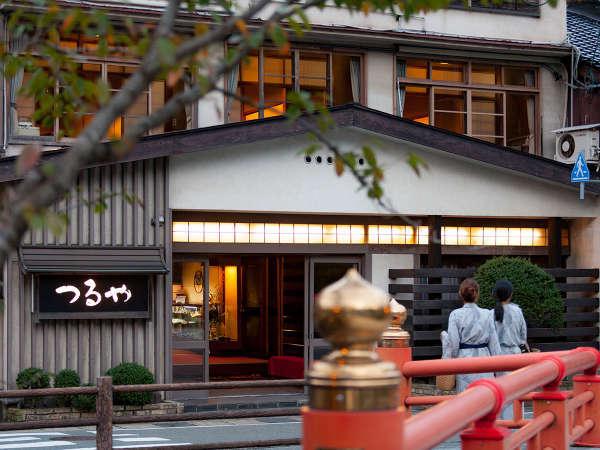 城崎温泉 つるや旅館の外観