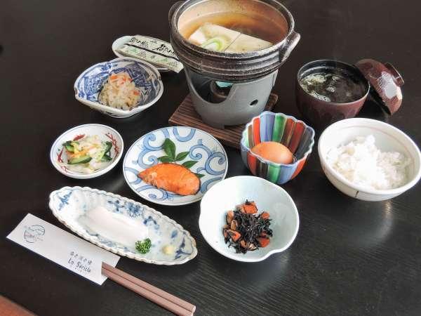 【朝食付き】@6480円から★素材にこだわったオーベルジュの和朝食を召し上がれ♪