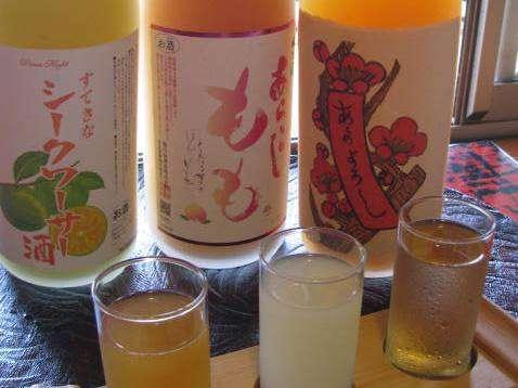 【果実酒飲み比べセット付き】 ご宿泊プラン