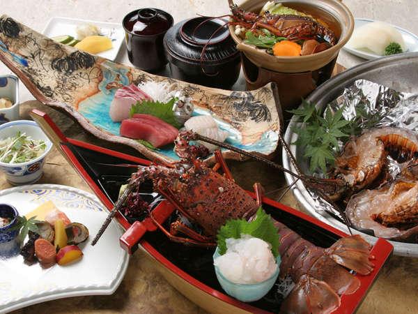 【伊勢エビコース】お造り、塩焼き、鍋で!3種の食べ方で食べ比べ♪