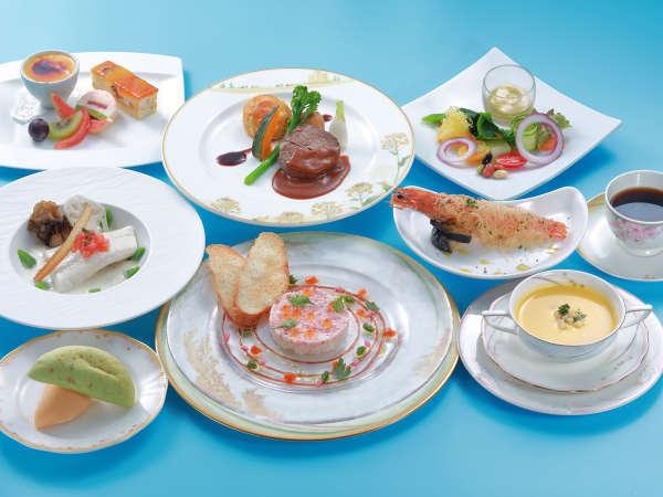 ■全室禁煙■お料理グレードアップ!展望レストランで美食を堪能【洋食フルコース】