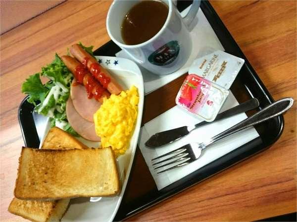 【軽朝食付きプラン】1階マックスカフェ内にてご提供♪美味しいコーヒーも大人気【06:30~09:00】