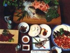 鯉の姿造りは特別料理です