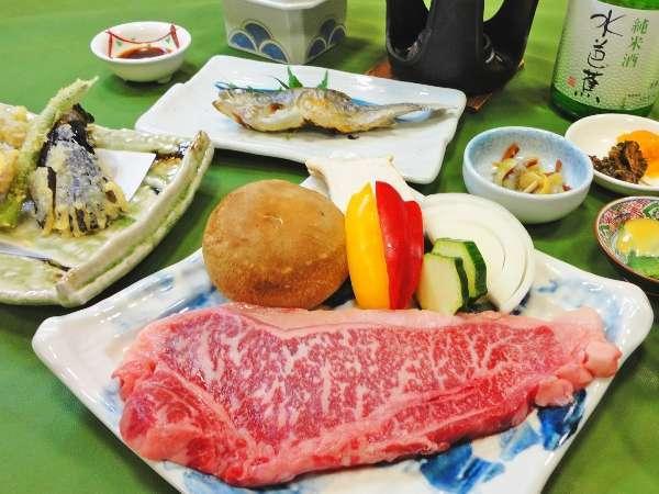 【2食付】のんびり贅沢大人旅!!赤城牛特別コースプラン☆名酒付☆