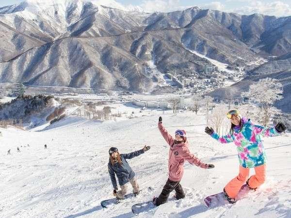 【2食付】苗場スキー場リフト1日券付きお得なスキーパック☆