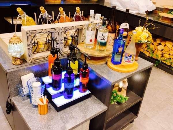 【Welcome Bar】宿泊者皆様お楽しみいただけます