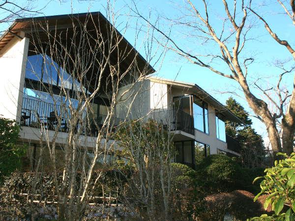 箱根 四季の家の外観