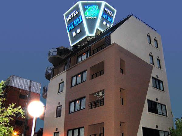 ホテルリブマックス梅田の外観