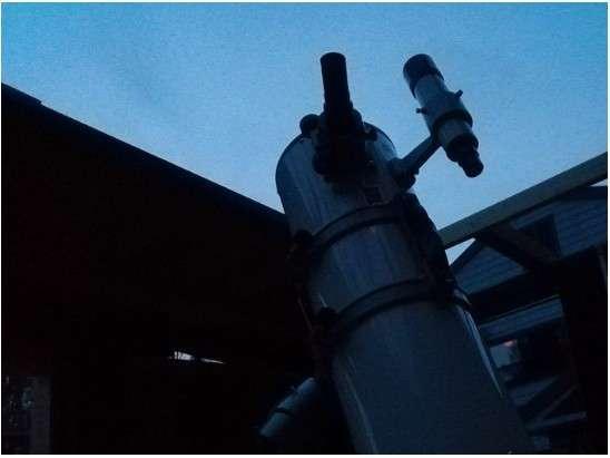 新設レキオ天文台!自由に単体観測可能です。双眼鏡貸し出し致します。望遠鏡は21時半よりご案内します。