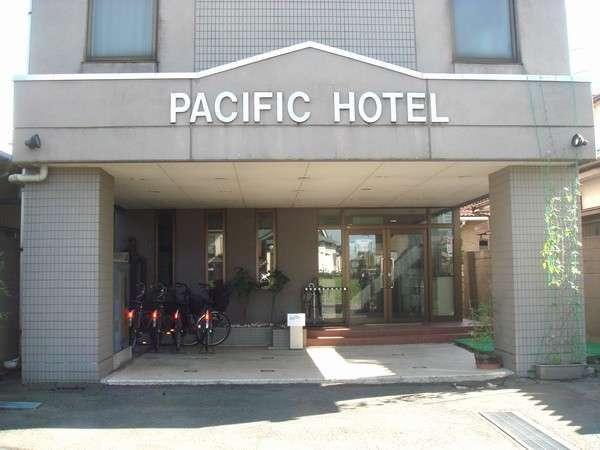 パシフィックホテル鐺山の外観