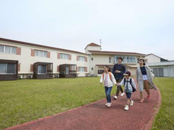 ホテルファミリーオ館山の外観