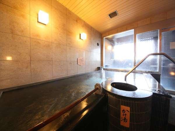 ■大浴場ラヂウム人工温泉【営業時間:15時~25時、6時~10時】※タオル類はお部屋からお持ちください