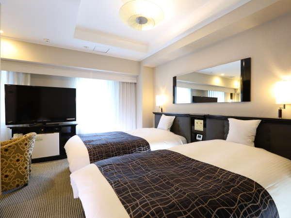 ■デラックスツインルーム【17平米・ベッド幅120cm×2台】