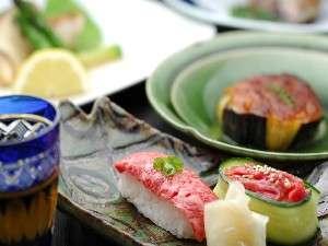 地元の新鮮な食材を活かした料理をご賞味ください。