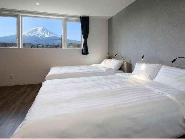 デラックスファミリールーム-富士山ビュー