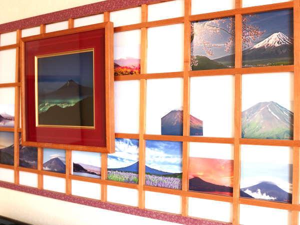 オリジナル作品!富士山の写真をはめています!