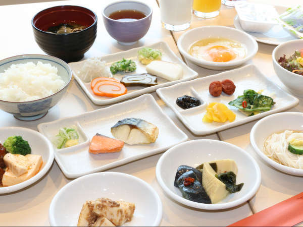 朝食バイキング(和)