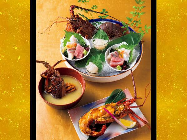 【期間限定】伊勢えびを贅沢に味わう♪ディナーコース 夕朝食付き