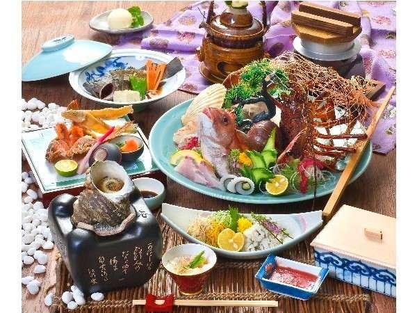 料理長一押し来島の地魚懐石プラン 税込¥13,300/人〜