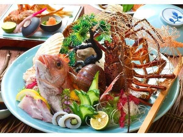 【朝なし】料理長一押し来島の地魚懐石プラン 税込¥12,050/人〜