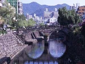 めがね橋(ホテルより徒歩3分)