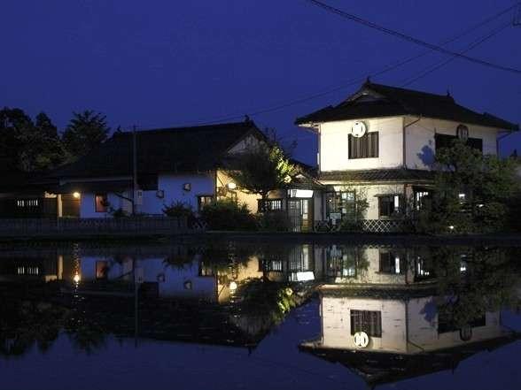 人吉温泉しらさぎ荘の外観