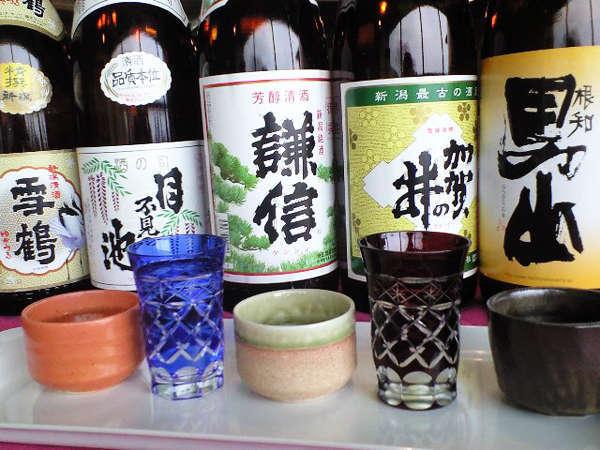 新潟県糸魚川産の地酒を飲みくらべてみませんか?