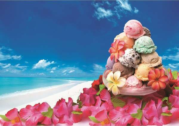 【じゃらん限定】10種類のブルーシールアイスと手作り島料理の朝食ブッフェ付き
