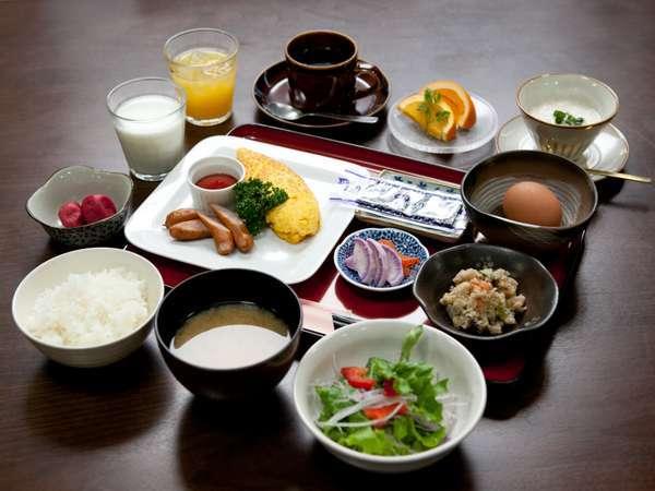 こだわりの朝食