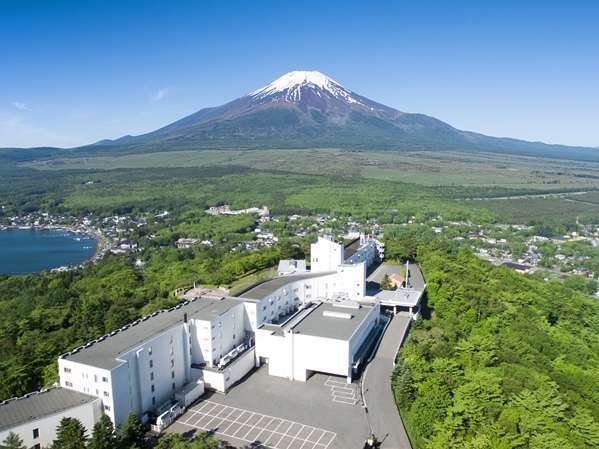 ホテルマウント富士の外観